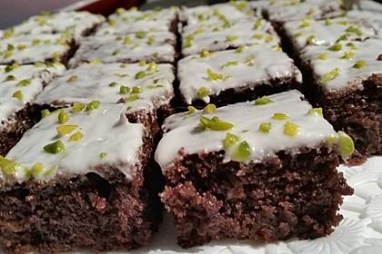 Sagenhafte Brownies mit Zucchini 3