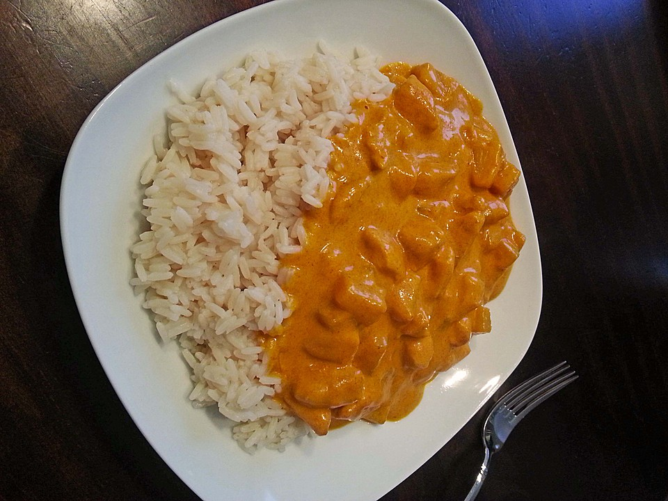 X Curry Huehnchen Madras