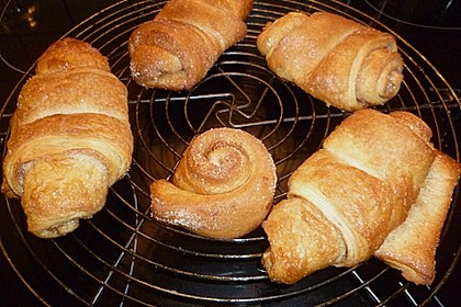 Croissants und Pains au chocolat 20
