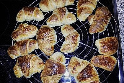 Croissants und Pains au chocolat 33
