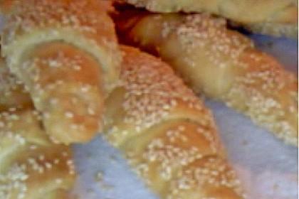 Croissants und Pains au chocolat 36