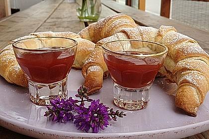Croissants und Pains au chocolat