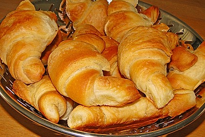 Croissants und Pains au chocolat 1