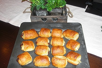 Croissants und Pains au chocolat 5