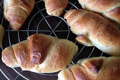 Croissants und Pains au chocolat 14