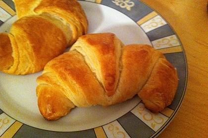 Croissants und Pains au chocolat 6