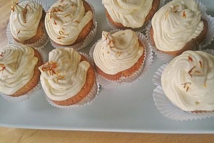 Aprikosen - Safran Cupcakes 1