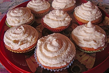 Aprikosen - Safran Cupcakes 5