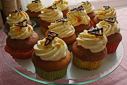 Aprikosen - Safran Cupcakes 2