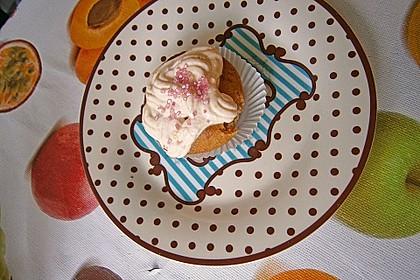 Aprikosen - Safran Cupcakes 4