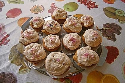 Aprikosen - Safran Cupcakes 3