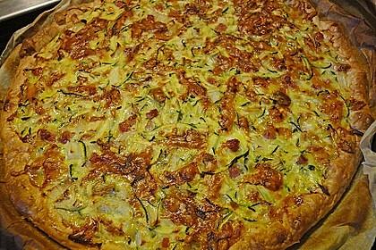 Maxis Zucchini - Zwiebel Tarte 1