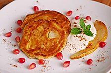 Pfannkuchen Helene mit Joghurtcreme