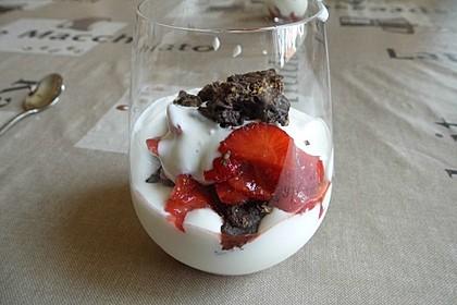 Aprikosen - Joghurt - Schoko Crossies - Schichtdessert 2