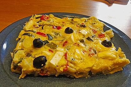 Gemüse - Feta - Kuchen