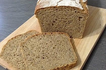 Rustikales Brot im Bräter 115