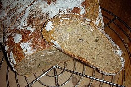 Rustikales Brot im Bräter 46