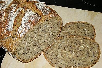 Rustikales Brot im Bräter 61