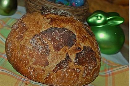 Rustikales Brot im Bräter 39