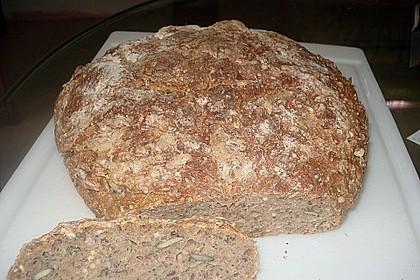 Rustikales Brot im Bräter 101