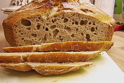 Rustikales Brot im Bräter 72