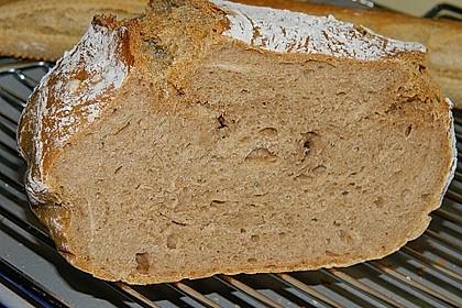 Rustikales Brot im Bräter 57