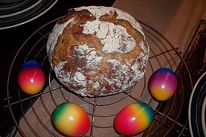 Rustikales Brot im Bräter 52