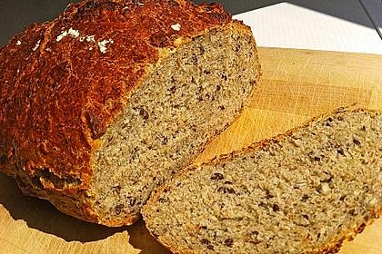 Rustikales Brot im Bräter 60