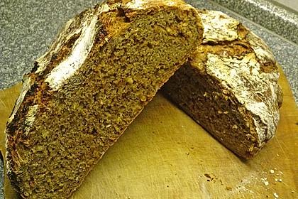 Rustikales Brot im Bräter 50