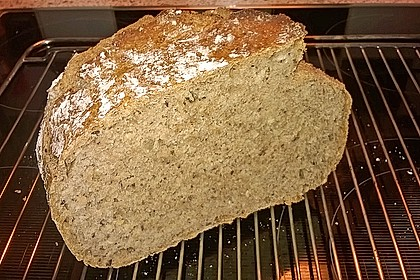 Rustikales Brot im Bräter 126
