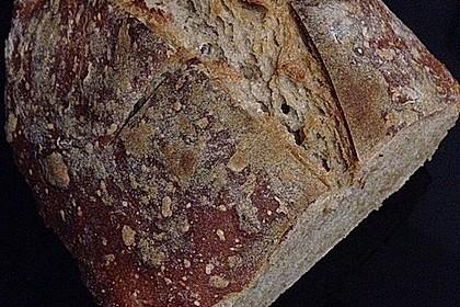 Rustikales Brot im Bräter 116