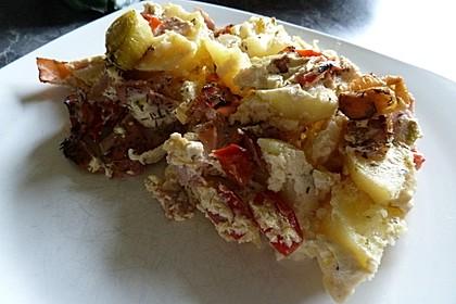 Kartoffelauflauf mit Thymian 8
