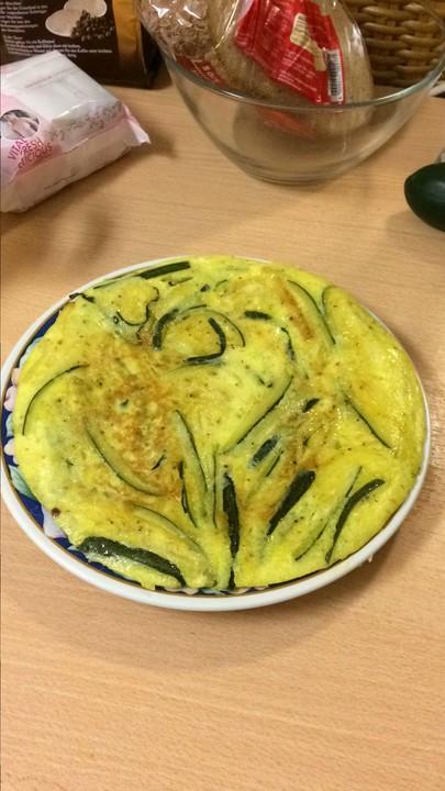 Zucchini - Omelett mit Käse von schnettili74 | Chefkoch.de