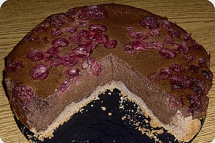 Quark - Kirsch - Schokoladenkuchen