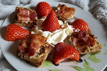 Bacon - Tomaten - Frischkäse Häppchen 12