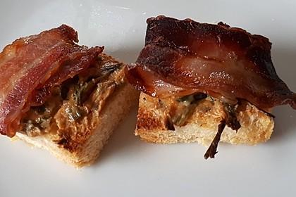 Bacon - Tomaten - Frischkäse Häppchen 42