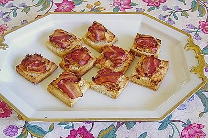 Bacon - Tomaten - Frischkäse Häppchen 31