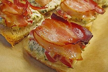 Bacon - Tomaten - Frischkäse Häppchen 3