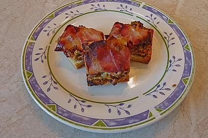 Bacon - Tomaten - Frischkäse Häppchen 27