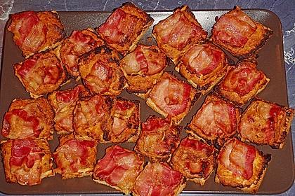 Bacon - Tomaten - Frischkäse Häppchen 39