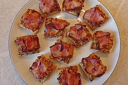 Bacon - Tomaten - Frischkäse Häppchen 17