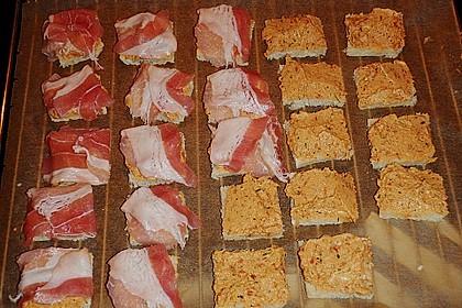 Bacon - Tomaten - Frischkäse Häppchen 43