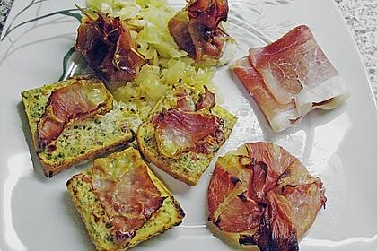 Bacon - Tomaten - Frischkäse Häppchen 29