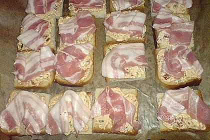 Bacon - Tomaten - Frischkäse Häppchen 47