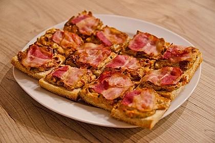 Bacon - Tomaten - Frischkäse Häppchen 15