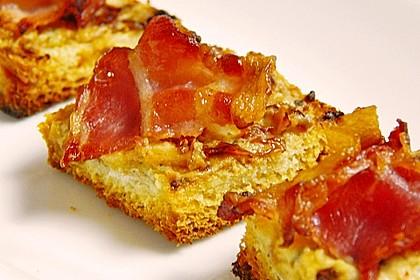 Bacon - Tomaten - Frischkäse Häppchen 20