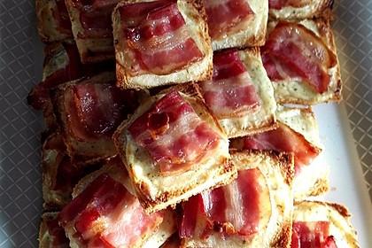 Bacon - Tomaten - Frischkäse Häppchen 13