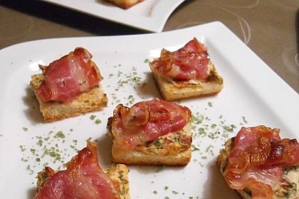 Bacon - Tomaten - Frischkäse Häppchen 2