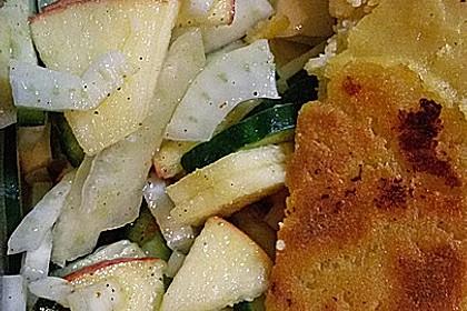 Fenchelsalat mit Apfel und Gurke 10