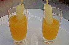 Holunderblüten - Mango Dessert